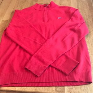 Like new boys Vineyard Vines 1/4 zip sweater xl 18